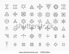 Find Set Geometric Shapes Trendy Hipster Icons stock images in HD and millions of other royalty-free stock photos, illustrations and vectors in the Shutterstock collection. Thousands of new, high-quality pictures added every day. Flower Mandala, Mandala Art, Boho, Hand Drawn Arrows, Sacred Geometry Tattoo, Hipster, Mystique, Symbolic Tattoos, Science Art