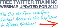 Free Training Reveals How To Automate Twitter To Generate An Endless Flood Of Prospects To Your Business!\n