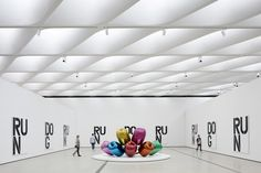 The Broad Museum by Diller Scofidio + Renfro is a new contemporary art museum built by philanthropists Eli and Edythe Broad in downtown Los Angeles.
