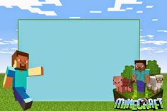 minecraft birthday placemat | Remember to do a right click before saving , for having the image in ...