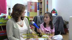 Con Naira, los niños implantados aprenden a hacer entrevistas