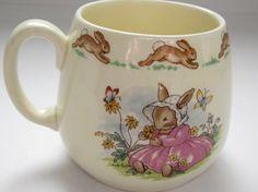 Royal Doulton Mug 1980's Bunnykins Beatrix by Thetrinketsden