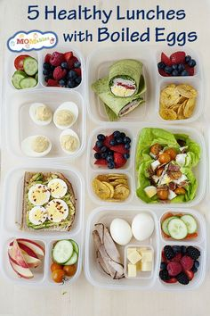 Healthy School and Office Lunch Ideas 2019 Healthy Lunch Ideas with Boiled Eggs: great lunch ideas for back-to-school and the office to add some extra protein. The post Healthy School and Office Lunch Ideas 2019 appeared first on Lunch Diy. Healthy Drinks, Healthy Snacks, Healthy Eating, Healthy Recipes, Simple Healthy Lunch, Healthy Protein, Drink Recipes, Easy Recipes, Great Lunch Ideas