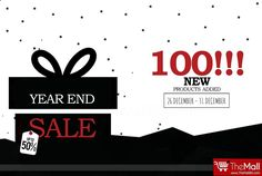 Year End Sale --- 100 NEWLY ADDED Products! Get UP TO '50%' Discount on NEWLY ADDED Products!  Offer starts on 26th December and ends on 31st December!  Buy Authentic products from - www.TheMallBD.com To Order Now, Call: 01977300901, 01977300902