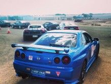 Check out pictures of MLCrisis' Bayside Blue 2001 Nissan Skyline GTR VSpecII Manual 6 - Getrag Coupe at the Shannons Club. Skyline Gtr R34, R34 Gtr, Nissan Skyline, Cutaway