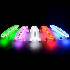 Clear 29 LT Flexdex Led Skateboard - Click to enlarge