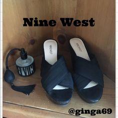Nine West wedge sandals ✨ Nine West wedge sandals, worn a few times , kept in great shape Nine West Shoes Sandals