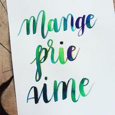 E.A.T 🍎 P.R.A.Y 🙏🏽 L.O.V.E ❤ : Enjoy @_charlotte_piot_ : #calligraphy #calligraphie #moderncalligraphy #brushcalligraphy #brushlettering  #typography #handtype #handlettering #word #font #lettering #handlettered #handwriting #brushlettered #letteringchallenge  #dailylettering #calligraphylove #design #art #inspiration #followme #brushpen #watercolor #brushscript #handwritten #lettering #scriptlettering #calligritype #goodtype #eatpraylove