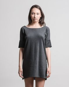 Easy Dress - Oversized dress. Or top. Or tee. No pockets. Open back.