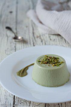 Panna cotta al pistacchio