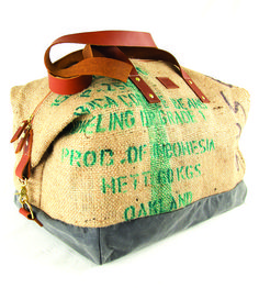 Oaxaca Coffee Sack Duffel | Women's Bags & Accessories | BARE | Scoutmob Shoppe | Product Detail
