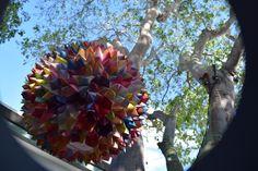 waldorf auction item origami ball light 2 waldorf inspired moms