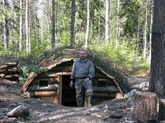 dugout survival shelter - Google Search