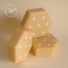Polka dots - cold process soap