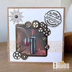 EBbieskaarten: Bloemenkaarten Clock, Frame, Wall, Home Decor, Watch, Picture Frame, Decoration Home, Room Decor, Clocks