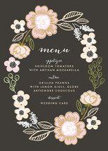 Botanical Wreath Wedding Invitations by Alethea an... | Minted