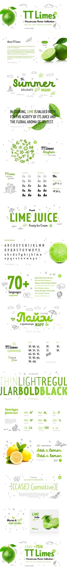 TT Limes Free Demo Typeface