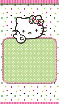 #watermelon#wallpaper #iphone Hello Kitty Themes, Hello Kitty Pictures, Hello Kitty Backgrounds, Hello Kitty Wallpaper, Cute Stationary, Cat Party, Pug Love, Colorful Wallpaper, Note Paper