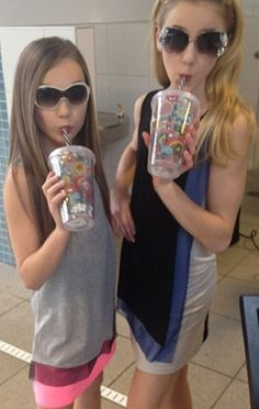 Maddie and Chloe of Dance Moms :)