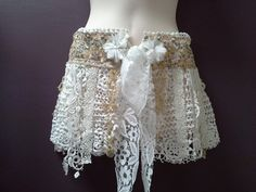 GIRLS SHABBY STYLE belt boho festival belt by SwirlnTwirlKids Boho Festival, Festival Outfits, Festival Clothing, Pink Tulle, Tulle Lace, Gold Lace, White Gold, Dance Belt, Ladies Pants
