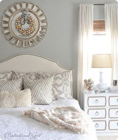 Silver and Gold Bedroom