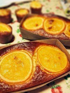 スイーツ:オレンジのパウンドケーキ♡