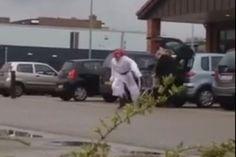 Filmpje van de slechte prank met de bommengooiende 'Arabier' in Klazienaveen