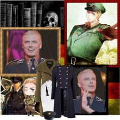 """John Barrowman as Germany"" by violetta-valery ❤ liked on Polyvore"