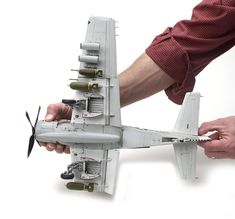 Make room for this big Skyraider Plastic Model Kits, Plastic Models, Fighter Aircraft, Fighter Jets, Douglas Aircraft, Modeling Techniques, Model Hobbies, Thing 1, Wheels And Tires