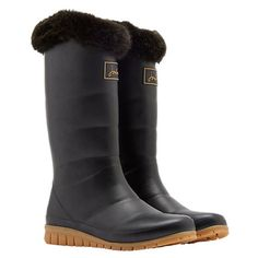 7523a298c Buy Joules Downton Tall Padded Wellington Boots, Grey Online at  johnlewis.com Greys Online