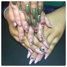 NAILED MY LOVES #nailsdone #nailswag #nailsdid #nailartist #nailed #nailedit #nailstagram #instagramnails #naildesign #loveyousissy #takingcareoffamily #diditonem #lovelynails #lovewhatido