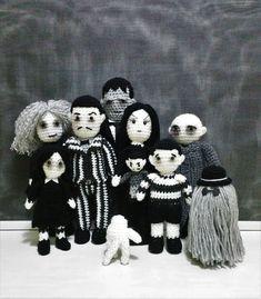 La famille Addams Morticia mercredi addams les