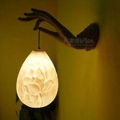 Special Buddha's-hand design wall lamp hallway corridor light