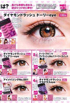 Japanese Gyaru make up