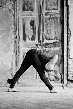 standing separate leg head to knee #yoga #yoga #love #om