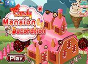 Candy Mansion Decoration   juegos de cocina - jugar online