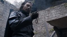 The Musketeers series Grimaud holds Athos' cross. 'You should not fear God or yourself only me! Matthew Mcnulty, Jamaica Inn, A Clash Of Kings, Bbc Musketeers, Beneath The Sea, Some Things Never Change, Falling From The Sky, Prisoners Of War, Medieval Fantasy