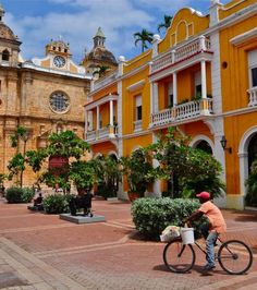 Enjoy Cartagena Our city guides can change your entire travel experience. Around The Worlds, Change, City Guides, Mansions, Photo And Video, House Styles, Travel, Instagram, Cartagena