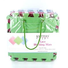 Knitter's Pride Lace Blocking Mats ($29.99 per set of 9 at WEBS)
