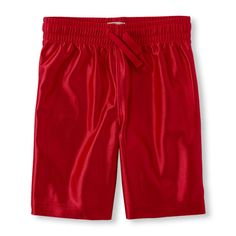 Boys Boys Active Knit Shorts - Red - The Children's Place