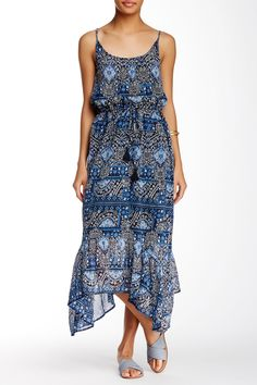 Printed Sharkbite Dress by Isy & Ki on @nordstrom_rack
