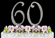 Rhinestone Cake Topper Number 60 null http://www.amazon.com/dp/B00JS89ZU6/ref=cm_sw_r_pi_dp_6UqLtb18GDB8JFAW
