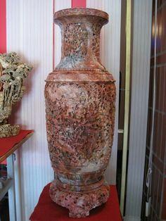 Soapstone flower pot. pls contact danang.marble@yahoo.com or visit danangmarble.com.vn for order or more info.