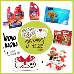 Enter to win the I Love My Dog #Giveaway with livelaughrowe.com