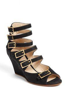 Chloé 'Arce' Multi Strap Wedge Sandal