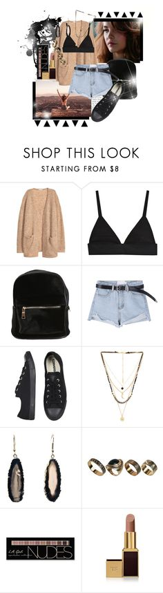 """You held me down but I broke free."" by brook-s18 ❤ liked on Polyvore featuring H&M, Converse, Ettika, ALDO, Charlotte Russe, Tom Ford and barbarapalvin"