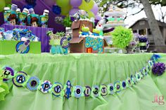cooper would love this toy story party!
