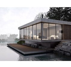 Love the setting and is that a floating deck?