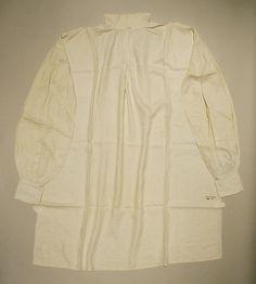 American linen shirt - 19th century