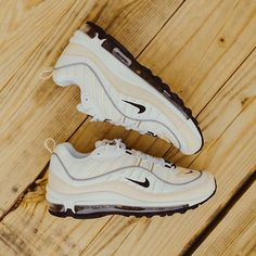 online retailer 2c41a 45cd3 Rock City Kicks · New at RCK · Womens Nike Air Max 98 (WhiteBlack-Fossil)  now available in-